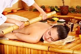massaggio bamboo