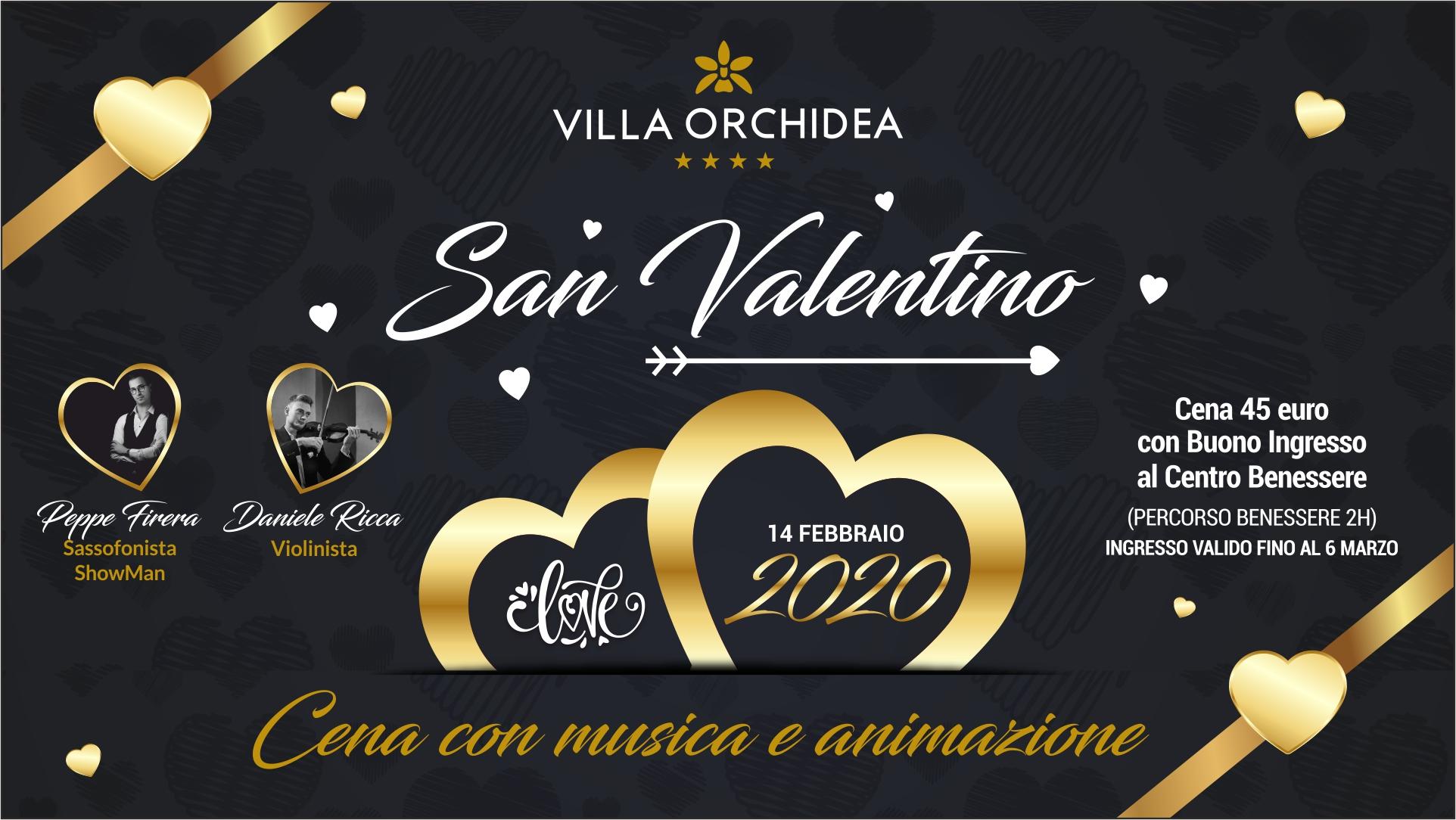 San Valentino 2020 a Villa Orchidea